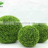 garden decoration artificial flower ball, plsatic boxwood balls for decorative