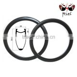 Ultralight 700C 50mm 23mm carbon clincher rim, Road bike basalt braking surface carbon clincher rim bicycle parts