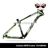 Chinese factory carbon mountain bike frame BSA