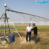 Certified center piovt irrigation farm equipment with Booster pump