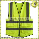 Customized Yellow Reflective Safety Vest
