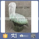 Porcelain vivid sea animals,seagull crab fish whale