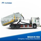 Horizontal Mobile Garbage Compressor and Transfer Station