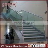 tempered glass plastic stairs step / exterior stairs treads