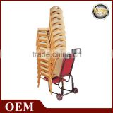 T-002 Cheap hand trolley for stacking banquet chair