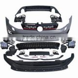 bodykit front/rear bumper assy for Golf 7 GTI