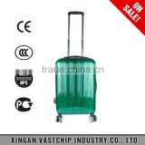 New Fashion Luggage Trolley Case/PC Luggage Trolley/Hard Travel Suitcase Luggage with Scale handle to France market