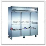 R219 6 Doors Static Cooling/Fancooling Reach-In Kitchen Fridge Freezer/Refrigerator