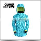 2015 new design women one piece ski suit clothing