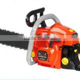 "high quality Professional 58cc 1E45F petrol chinese chainsaw with 18"" ,20"" guide bar"