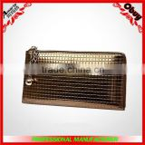 Hot wholesale long pattern vintage genuine leather ladies wallet                                                                         Quality Choice