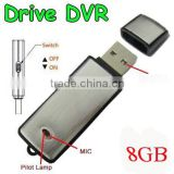 Updated 2 in1 8GB Digital Voice Recorder II + USB Flash Memory Stick Drive 8hours standby SK-858