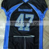 100% polyester tackle twill custom fit with custom material American Football Uniform