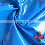 Ultra Light Waterproof Nylon taffeta with Glossy Bright Shiny PU Coating Polished fabric coated for rain coat down jacket