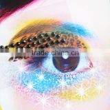 Custom Eye Rock bling temporary acrylic rhinestone eyeshadow stickers makeup crystal eyelids sticker eyes tattoo factory