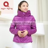 2015 suzhou garment factory manufactory black purple yellow ladies jacket