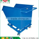 4- Wheel Cold Rolling Steel Trolley