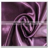 Solid Dyed Satin Fabric for Making Chair Ribbon in Roll