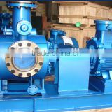Horizontal twin screw pump for high viscosity medium bitumen pitch asphaltpump