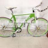 2014 high-quality colorful Wholesale oem race Fixed Gear road bicicleta 700C road bike/bicycle