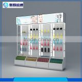 Modern Chinese wall mounted modern glass display cabinet