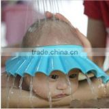 New Hot Selling 3 color Adjustable Shower cap protect Shampoo for baby health Bathing bath waterproof caps