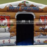 Inflatable wooden air jumping house,kids funny inflatable air jumper,inflatable bouncer castle