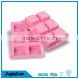 Wholesale handmade DIY Silicone Soap Mold chocolate candy mold