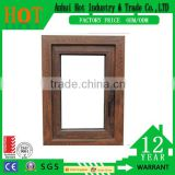 Aluminum Wooden Frame Window Casement Inward Opening Casement Window Lock Handle Window