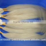 Blonde 613# Bulk & weft silky straight wave brazilian virgin hair weaving AAA quality real human hair extensions