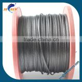 High strength uhmwpe rope instead of steel wire