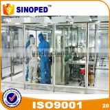 2017 SINOPED Air Filter Cleaning Cleanroom Dust Free Portable Clean Room for Pharmaceutical With High Quality