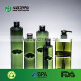 sample free cosmetic packing spray cap plastic clear 500ml pet bottle