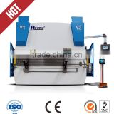 DA52 cnc iron plate bending press 100 ton/3200mm carbon steel bending machine cnc metal sheet folding machine