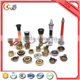 pvc lined types of fire hose couplings with fire hose binding machine