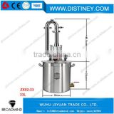 LX2183 ZX02-33 Small Volume Alembic for Distilling Essential Oils Extracting Machine , volume:33 liters,6.08 US gallons(US Gal)