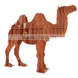 Camel Puzzle Table,Creative Animal Furniture,MDF DIY Assembled CamelTable For Fashion Living Room,Wooden Animal Furniture