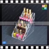 New products clear acrylic nail polish display shelf with 6 tiers