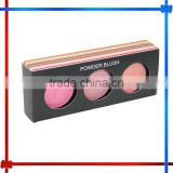 Three colors powder blush