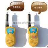 2015 hot sell latest walkie talkie toys door interphone from ICTI manufacturer in dongguan
