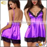 women's Sexy Lingeries Enchanting strap Chemise Stain Sleepwear Babydoll Underwear Dress G-string