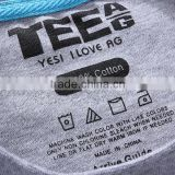 Customized Tagless heat transfer clothing label Factory Direct Sale