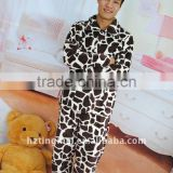 men polyester printing coral fleece pajama