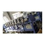 Tubular Embroidery Machine , Hat Stitching Machine Fast Data Transmission