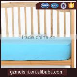 China suppliers 100% cotton fabric elastic fitted sheet for baby