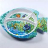 Plastic Melamine Children Toddler Baby Personalized Melamine Dinnerware Sets