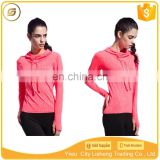 Wholesale fitness apparel manufacturers cheap wholesale sweatshirt women sports wear fitness