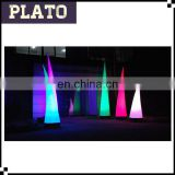 Advertising LED inflatable lighted pillar, LED inflatable column with logo, inflatable illumi tube for wedding