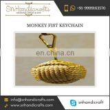 Designer Monkey Fist Keychain from Established Trader of Indian Market at Best Available Rate