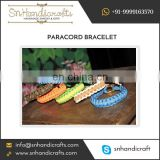 Well Woven Quality Fabrics Made 550 Paracord Bracelet Available in Various Colours